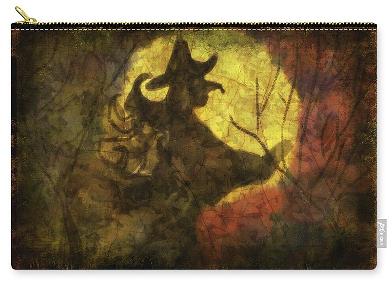 Witch on Texture - Carry-All Pouch