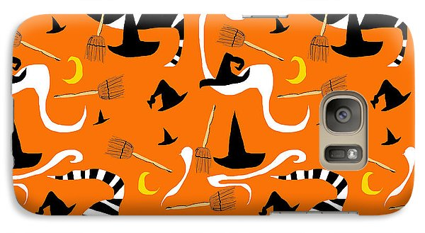 Witches Hats and Brooms - Phone Case