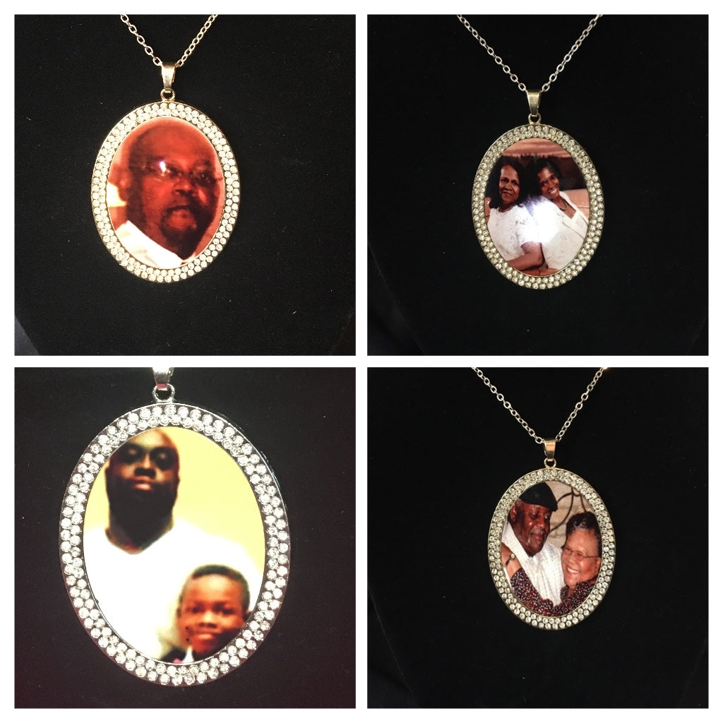 Custom personalized Circle pendants