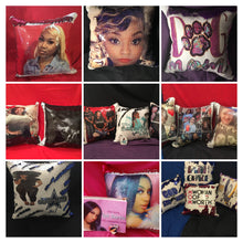 Load image into Gallery viewer, Reversible sequin pillow 20%off 11/27-11/28