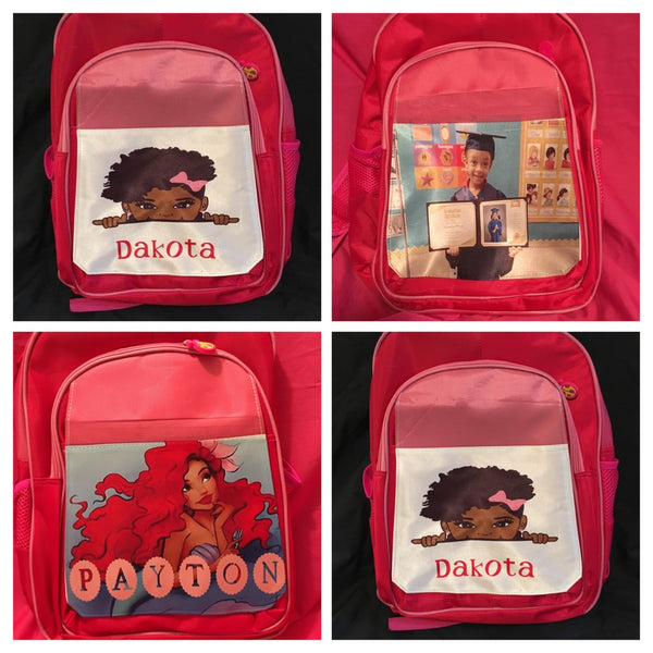 Custom Medium size backpacks