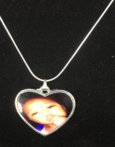Custom Heart pendant necklace