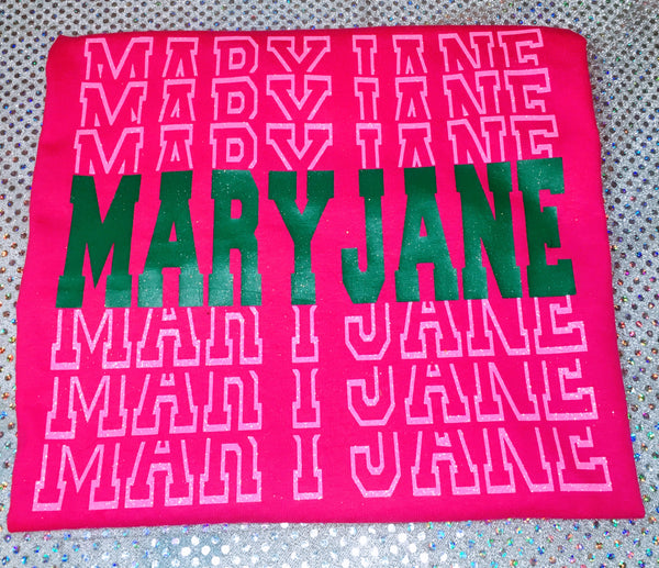 """Mary Jane"" Cannibis Tshirt"