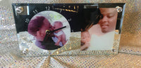 "Personalized 12"" Rectangle Edge Mirror"