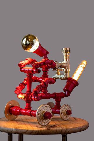 HELL RIDER LAMP/DISPENSER (RED)