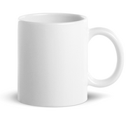 11oz White glossy Mug - Mister Eight, Mr8 Customs