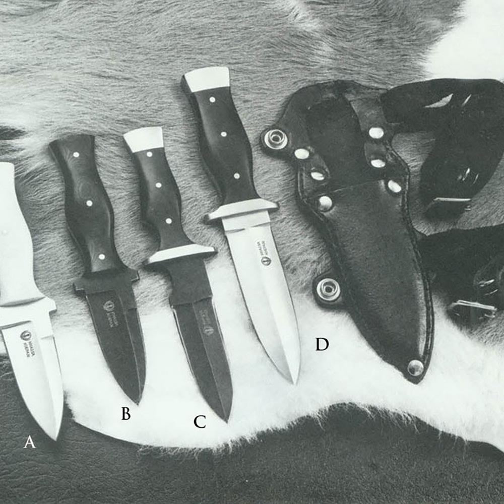 Smaller personal defense knives