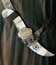 Load image into Gallery viewer, Engraved mother of pearl Kirpan
