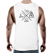 Load image into Gallery viewer, Rogue Essentials - Men's Muscle Tee (V2 - White)