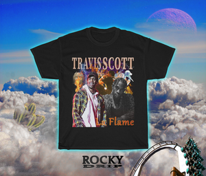 Travis Scott Vintage Bootleg T - Shirt