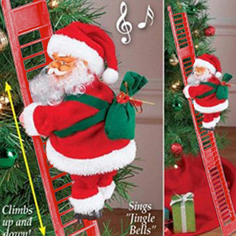 Electric Climbing Santa- Limited Edition