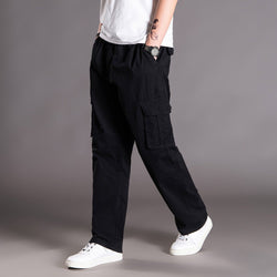 Men's Casual Fashion Loose Plus Size Outdoors Sports Trousers Long Pants
