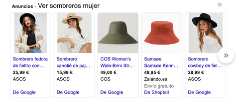 Google Shopping requisitos womify