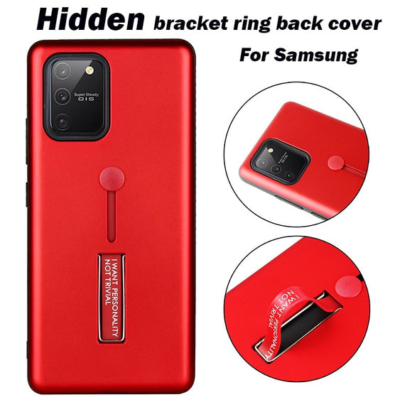 Ring Bracket Protective Cover Case For Samsung S20 Series