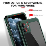 Luxury Transparent Airbag Bumper Full Protective Shookproof Case For iPhone 11 Series