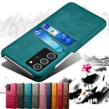 Slim Leather Wallet Cover Card Slots Case For Samsung Galaxy S20 & Note 20 Series