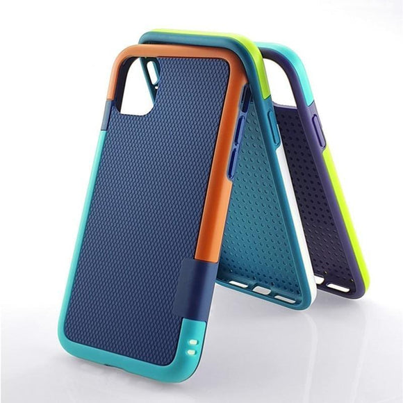 Hybrid Slim Gel Rubber Anti Slip ShockProof Case for iPhone 11 Series