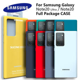High Quality Soft Touch Silky Silicone Protective Case for Samsung Galaxy Note 20 Series