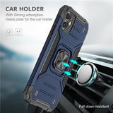 Magnetic Metal Finger Ring Holder Case For iPhone 12 & 11 Pro Max