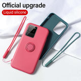 Luxury Magnetic Bracket Soft Silicone Shockproof Case For Samsung Galaxy S20