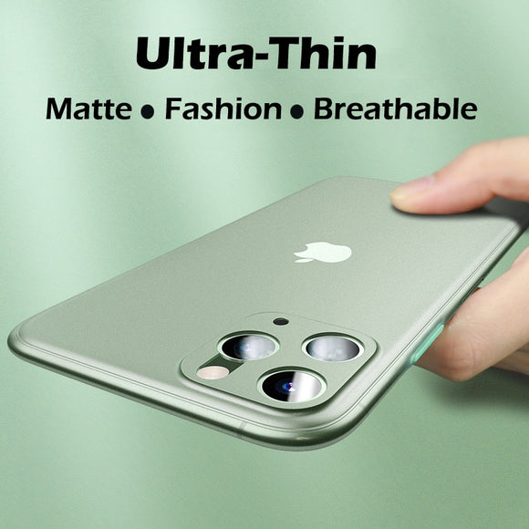 Luxury Contrast Color Protective Slim Case For iPhone 11 Series