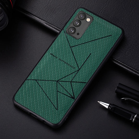 Bracket Soft Silicone Leather Case For Samsung Galaxy Note 20 Ultra