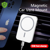 15W Magnetic Wireless Car Charger Mount Adsorbable Phone For iPhone 12 Pro Max
