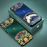 Luxury Leather Relief Patterned Case For iPhone 12 Series