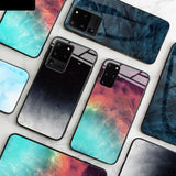 Starry Sky Design Tempered Glass For Samsung Galaxy S20 S20 Plus S20 Ultra