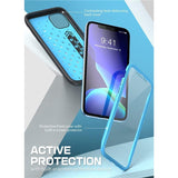 Sport Premium Hybrid Liquid Silicone Rubber + PC Cover With Built in Screen Protector For iPhone 11 Series