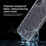 Herringbone Light Reflective Waterproof Back Case for iPhone 11 Pro Max