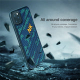 Super Shockproof 3D Texture Silicone Back Case for iPhone 11 Pro Max
