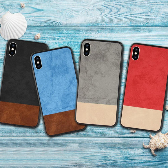 For iPhone X XS XS Max 7 8 Plus Soft TPU Back Cover