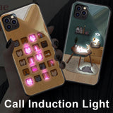 Sound Control Light Phone Case For Phone 11 Series