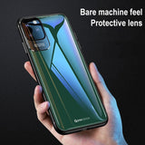 Porcelain Candy Color Edge Non Slip Anti Fall Soft TPU Back Cover Case For iPhone 11 Pro Max