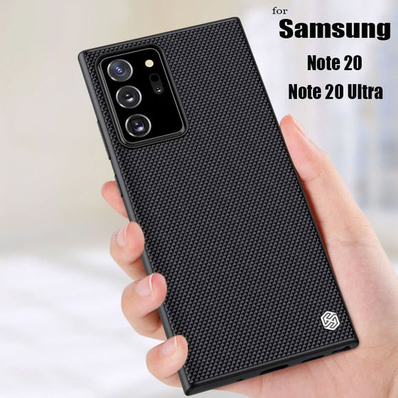 Textured Nylon Fiber Luxury Durable Cover Case for Samsung Galaxy Note 20 Series