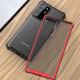 Silicone PC Hybrid Matte Transparent Shockproof Armor Cover Case for Samsung Note 20 Ultra | Note 20