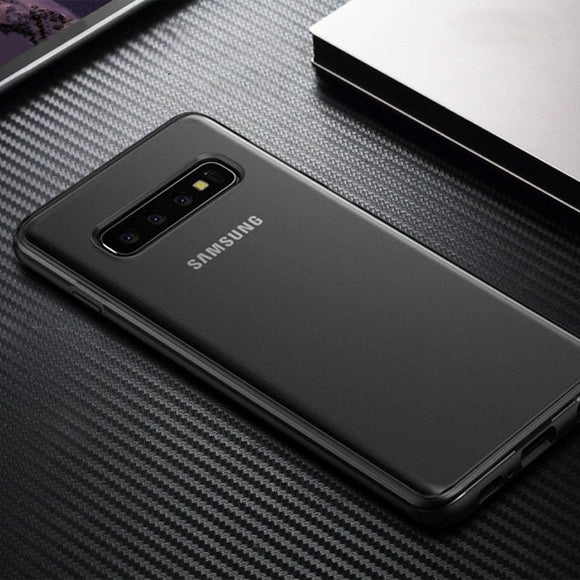 Luxury Design Ultra Thin Shockproof Impact Resistant Case For Samsung Galaxy S10 Series