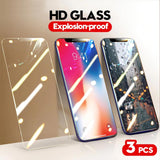 Full Cover Tempered Glass On For iPhone 11 Series