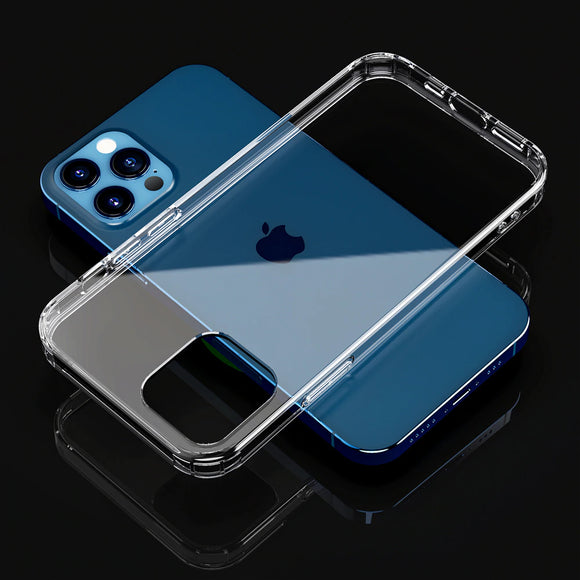 Ultra thin Clear Back Cover Transparent Phone Case For iPhone 12 Series