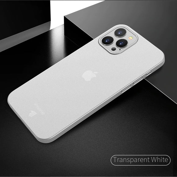 Ultra Thin Transparent Clear Case For iPhone 12 Series