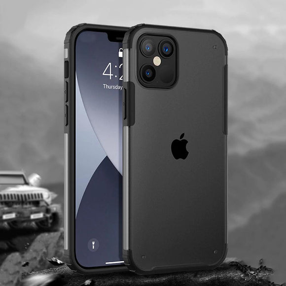 Luxury Armor Shockproof Case For iPhone 12 Series