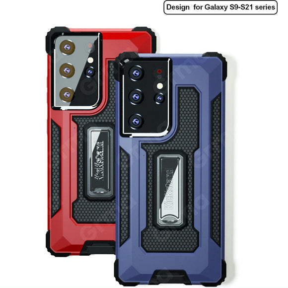 Armor Metal Case for Samsung Galaxy S21 Note 20 S20 Series