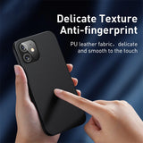 Luxury Magnetic Leather Shockproof Phone Case For iPhone 12 Series