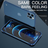 Ultra Thin Matte Frameless Slim Case For iPhone 12 11 Pro Max