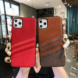 Vintage PU Leather Case Slim Wallet Card Slot Back Cover For iPhone 11  For iPhone 11 Pro MAX