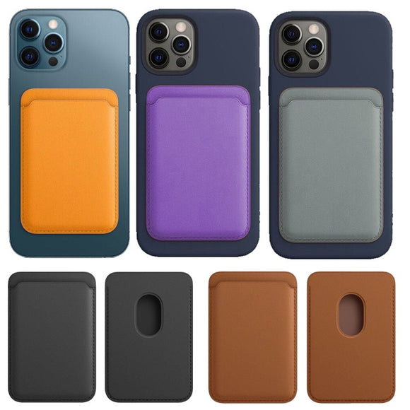 Wallet Card Holder Magnetic Phone Case for iPhone 12 Series