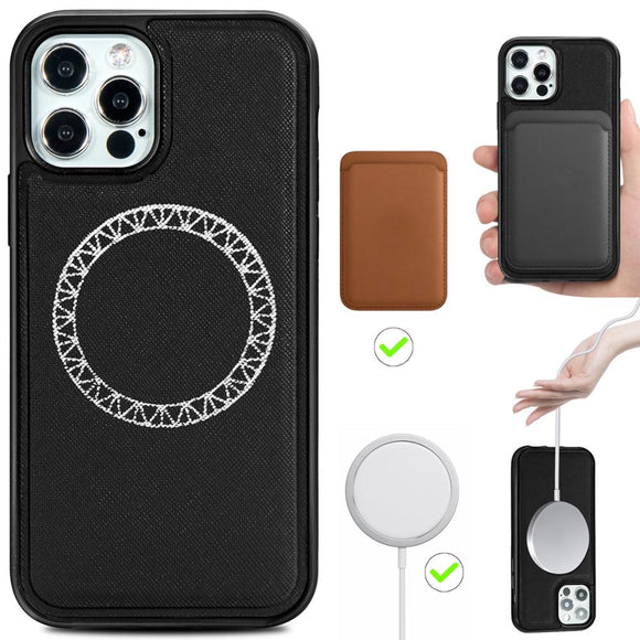 Magnetic Leather Full Protective Case For iPhone 12 Series