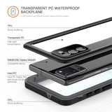Waterproof Case for Samsung Galaxy Note 20 Full Body Rugged Anti Skid Fall