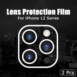 Tempered Glass Camera Lens Protector Cover for iPhone 12 Series